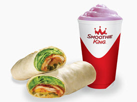Smoothie King's 500kCal meals