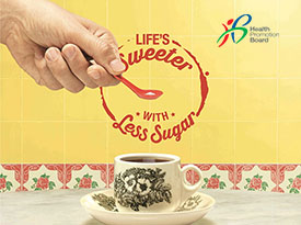 Life's Sweeter with less sugar!