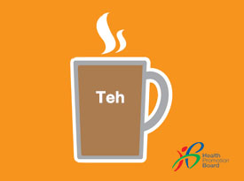 Did you know how much sugar is in a cup of Teh?