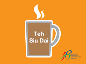 Did you know how much sugar is in a cup of Teh Siu Dai?